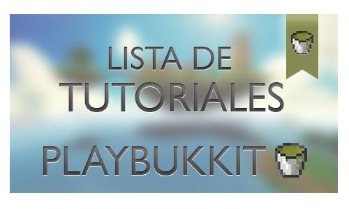 Lista de tutoriales