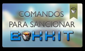 Comandos para sancionar en Minecraft (Bukkit)